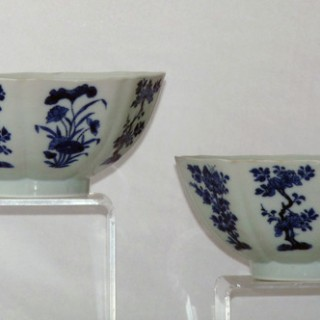 KANGXI PAIR OF MARK AND PERIOD BOWLS
