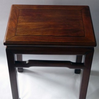 CHINESE HONGMU WOODEN STOOL