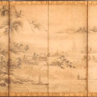 Japanese Six-Fold Screen