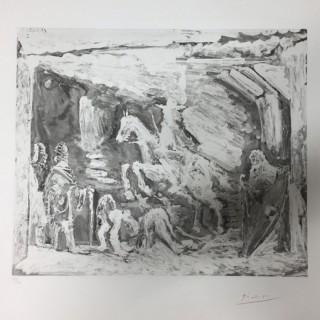 Rapt avec Celestine, ruffian, filled et seigneur avec son valet