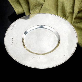 A Rare Charles II Broad Rimmed Plate (London, 1664)
