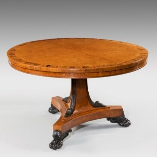 ANTIQUE CIRCULAR TABLE