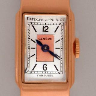 PATEK PHILLIPE, LADIES  18 CARAT ROSE GOLD 1930