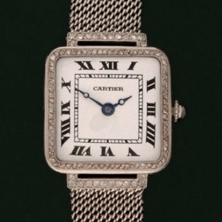 CARTIER, LADIES, PLATINUM & DIAMONDS C1920