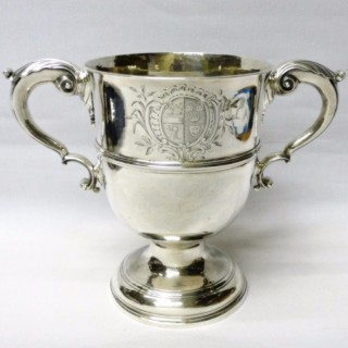 Antique Irish Silver Cup by Charles Townsend