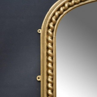 Excellent Large Victorian Giltwood Mirror