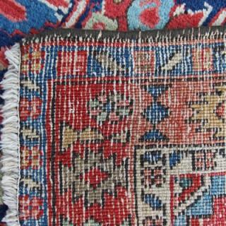 Antique pair of Heriz rugs