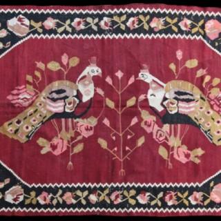 Antique Karabagh Kelim, Caucasus