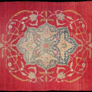 Antique Ushak (Oushak) carpet