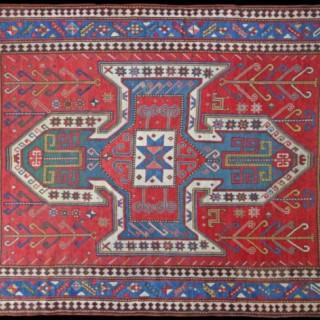 Antique Sewan caucasian rug