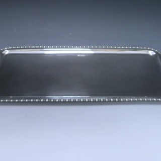 STERLING SILVER SANDWICH TRAY