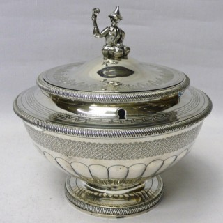George III Silver Tea Caddy by Peter & William Bateman