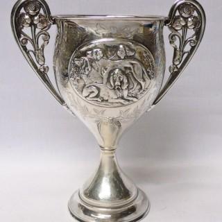 Antique Silver Presentation Cup by Elkington & Co Ltd