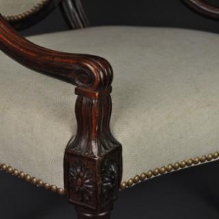 A fine Adam Salon Armchair