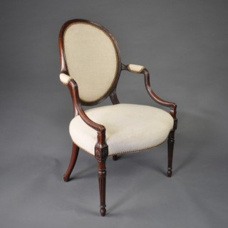 A fine Adam Salon Armchair