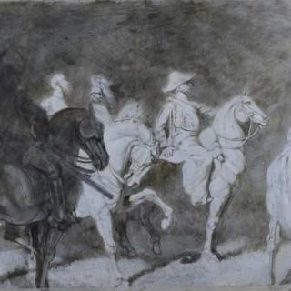 ARTHUR CHARLES CONRADE (1863-1955) GHOSTLY ARMIES
