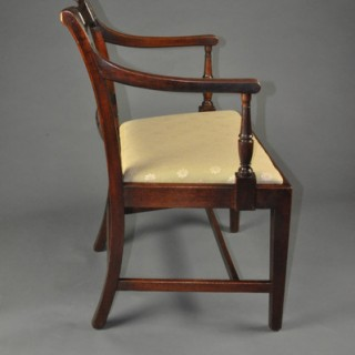 Set of Eight early 19th century mahogany Dining Chairs