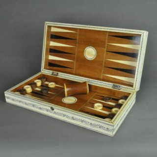 Vizagapatam Chess and Backgammon board