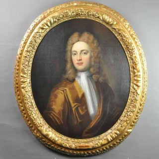 Oval Portrait of Thomas Ward