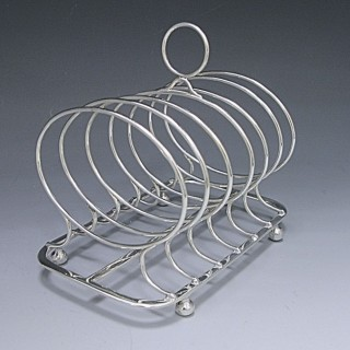 GEORGE III TOAST RACK