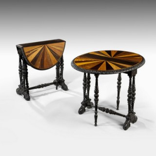 A pair of Ceylonese Sutherland Tables