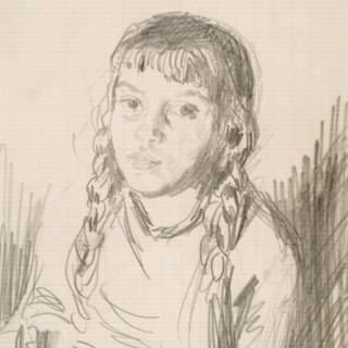 GERALD LESLIE BROCKHURST (1890-1978) BABA
