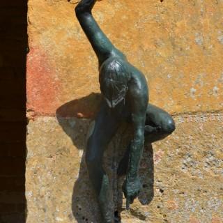 The 'Tyne God Fountain' by David Wynne (1926-2014)