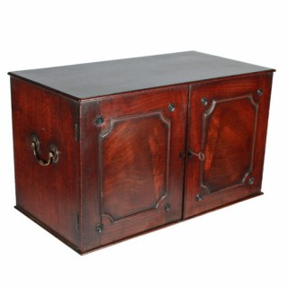 18th Century Chippendale Mahogany Cabinet