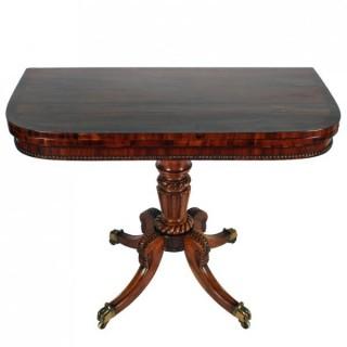 Regency 'Trotter' Tea Table (c. 1810Scotland)