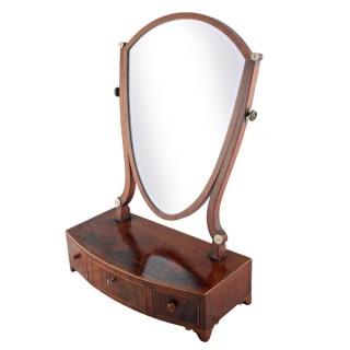Georgian Mahogany Dressing Mirror