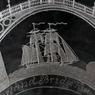 Pair of 'Sunderland Bridge' Rummers