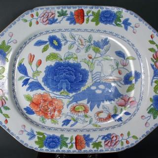 Mason's Ironstone China meat platter