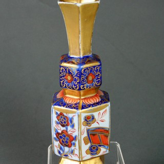 A Rare Mason's Ironstone china vase Segment pattern