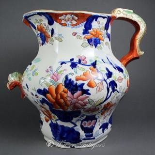 Mason's ironstone China footbath jug