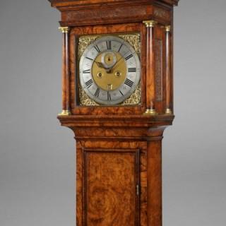 A Queen Anne longcase clock, by JOSHUA WILSON, London c1710