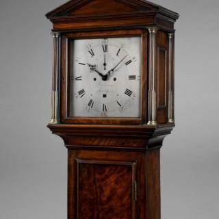 Fine George III longcase clock, by BENJAMIN VULLIAMY, London c1780