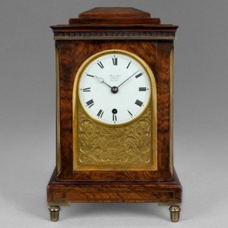 A particularly fine miniature regency timepiece, by BARRAUDS no.478, Cornhill, London c1810