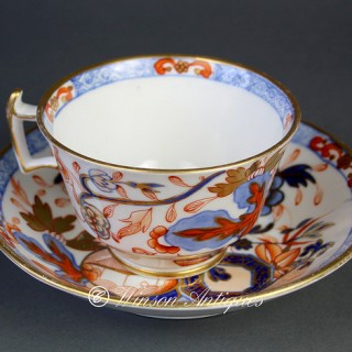 Mason's Porcelain cup and saucer Jardiniere pattern