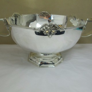 Silver Two-Handled Bowl