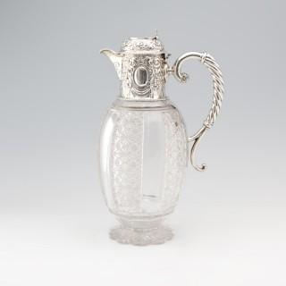 Victorian Silver Claret Jug