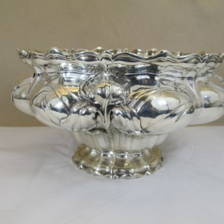 Large Victorian Silver Bowl