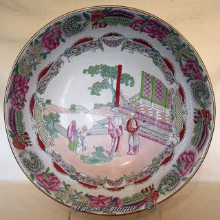 A Rare Mason's Ironstone bowl