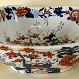 A Mason's Ironstone China salad bowl