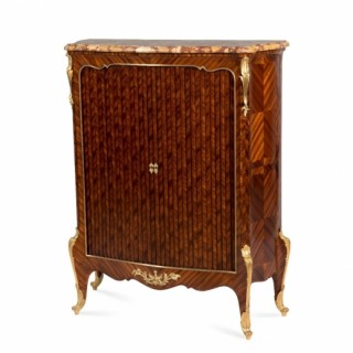 An ormolu mounted kingwood Meuble d'Appui by Paul Sormani