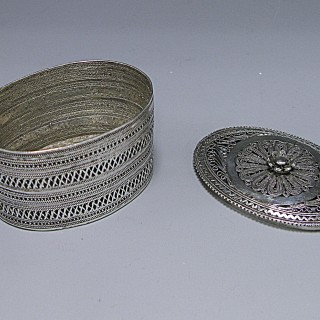A DUTCH SILVER BOX