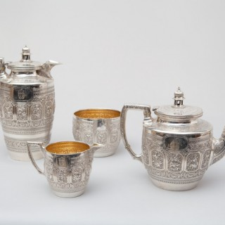 A FINE SCOTTISH SILVER SERVICE FOR THE INDIAN MARKET