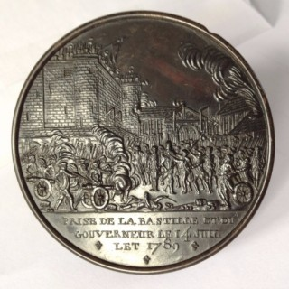 France, Paris, Storming of the Bastille, tortoiseshell snuff box