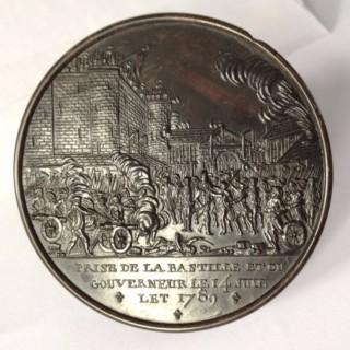 France, Paris, Storming of the Bastille, tortoiseshell snuff box