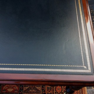 Antique Georgian Mahogany Partners Library Table