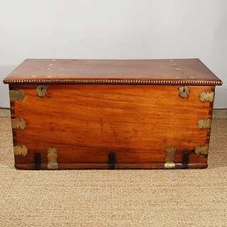 An Large Early 18th Century Camphor Sea Chest